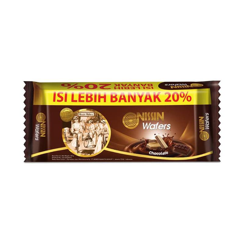 Nissin Wafers Chocolate 145 gr