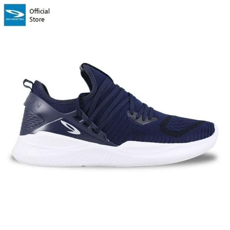 910 Nineten Ryuki Sepatu Sneakers - Biru Putih - Biru