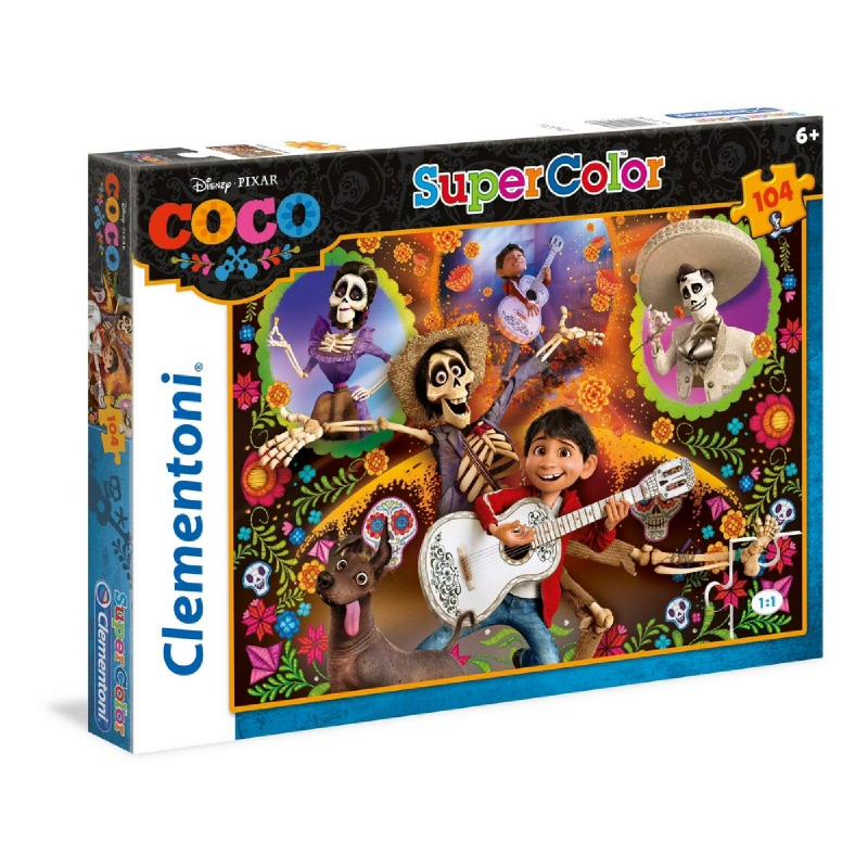 Clementoni Puzzle Coco - 104 pcs - SuperColor