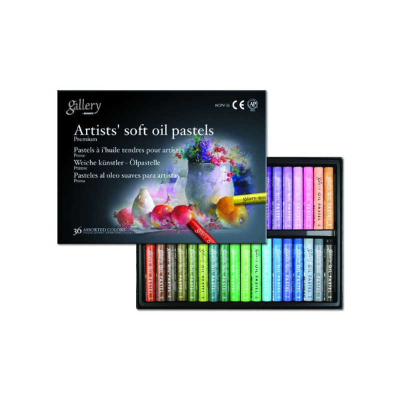 Mungyo - Artist Soft Oil Pastel - Krayon Warna Soft 36 pcs