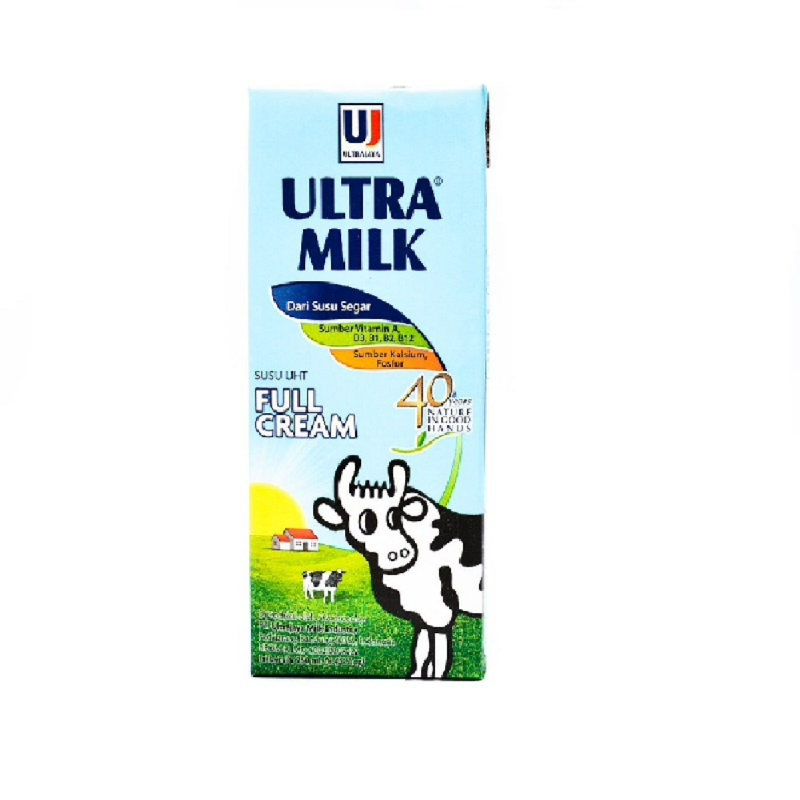 Ultra Milk Plain 250 Ml