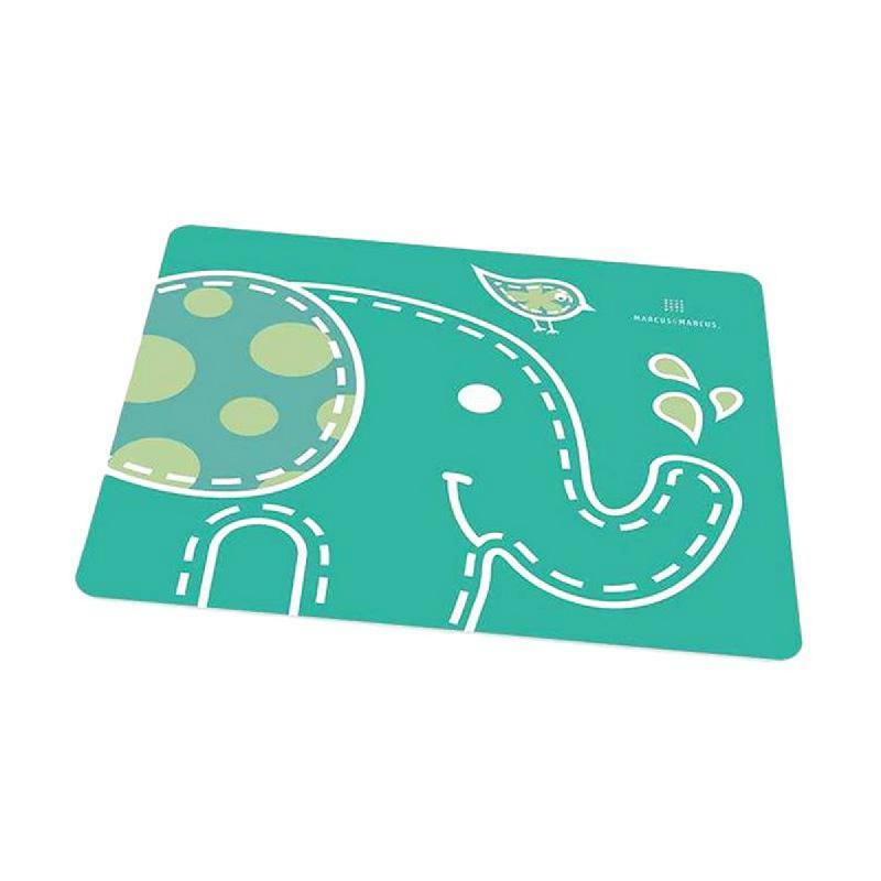 Marcus&Marcus Alat Makan Placemat Green Elephant Green
