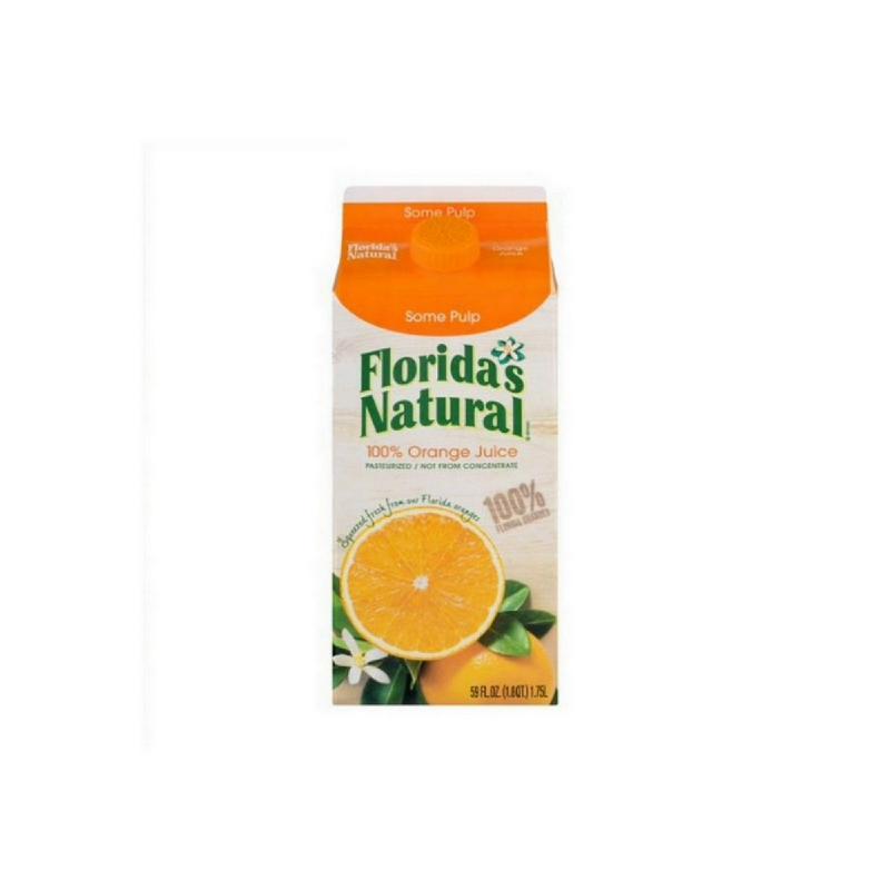 Fn 100% Fresh Orange Juice 1L