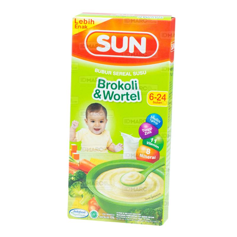 SUN Bubur Sereal Susu Brokoli Wortel Kotak