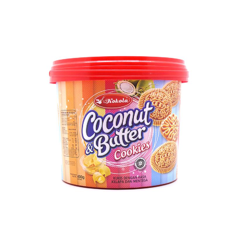 Kokola Bucket Cookies Coconut & Butter 4