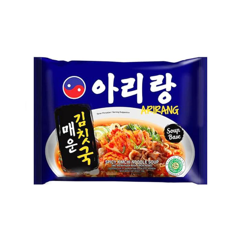 Arirang Mie Instant Mie Kimchi 120 Gr