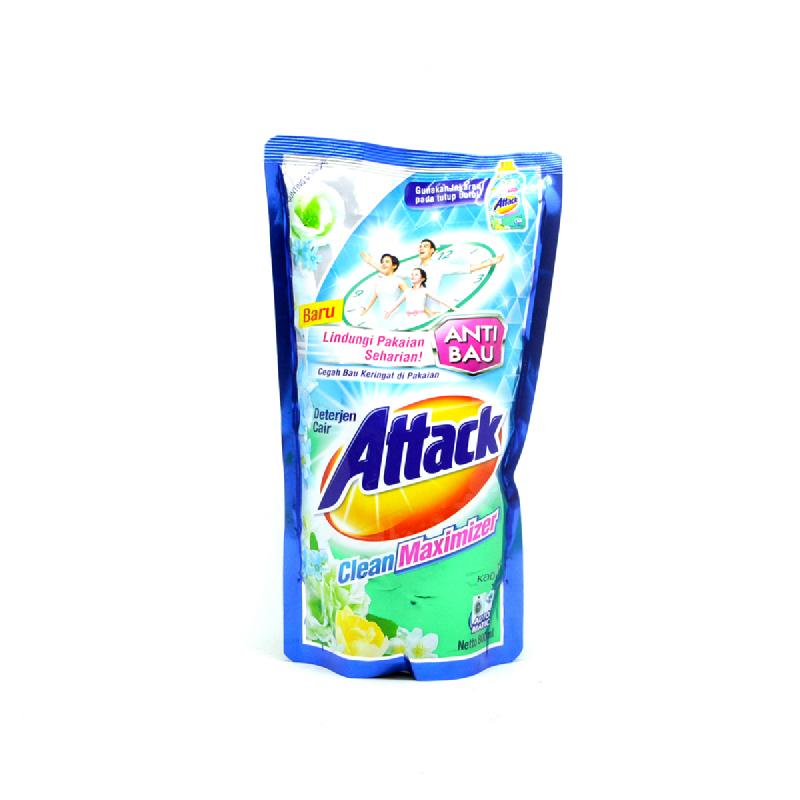 Attack Detergen Cair Clean Maximizer Pouch 800 Ml