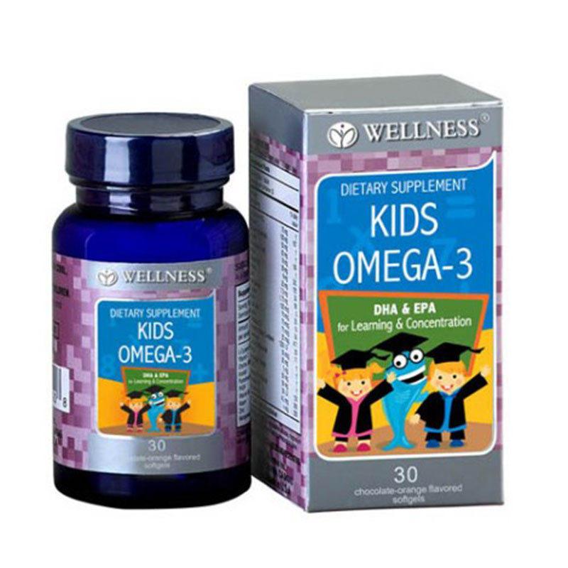 Wellness Kids Omega-3 30 Softgels