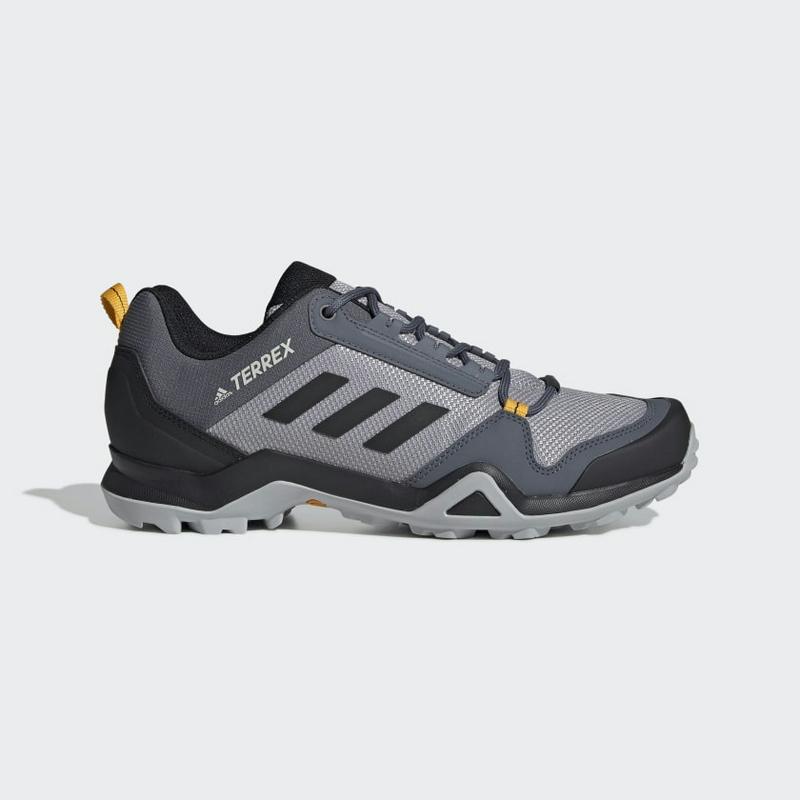 Adidas Terrex Ax3 Hiking Shoes EF0533 Light Granite Black