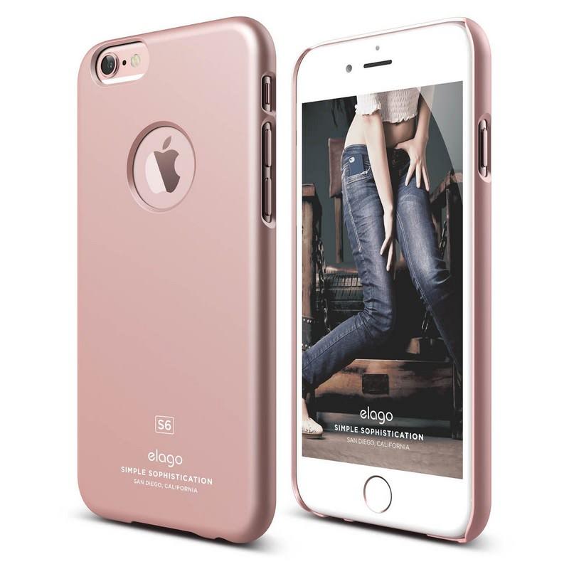 Elago Slimfit Case for iPhone 6 Plus - Rose Gold (Gloss)