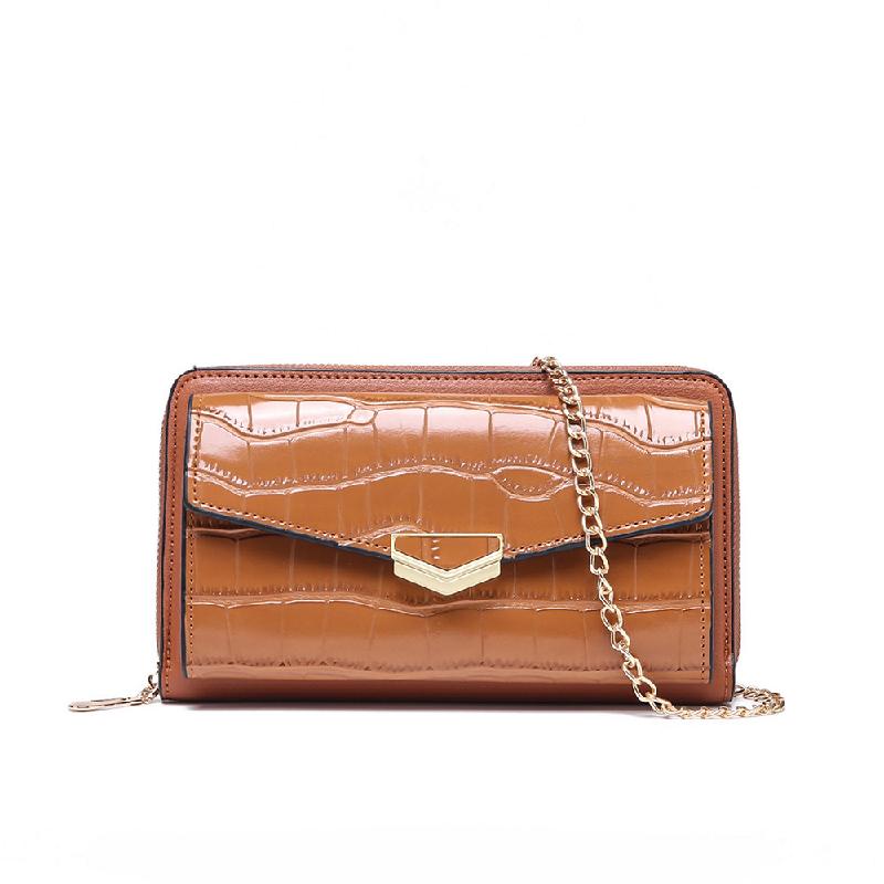 GYKACO CAROLLA Brown - Dompet & Clutch Wanita - Fashion Wallet & Clutch (Import)