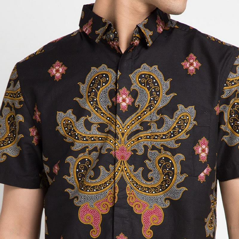 Arthesian Batik Pria Adelio Black