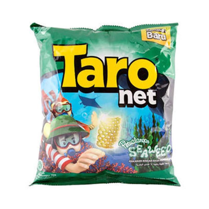 Taro Net Snack Seaweed 10 Gr