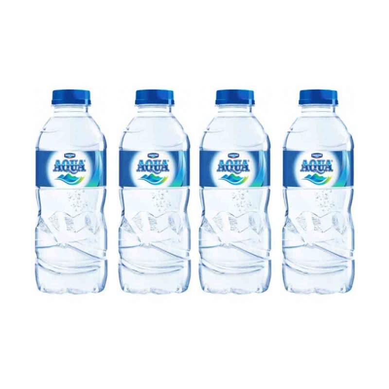 Aqua Mineral Water 330 Ml (Get 4)