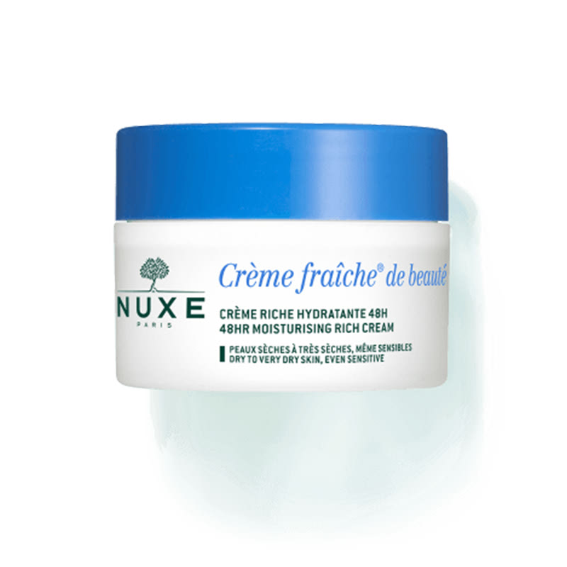 Crème Fraîche de Beauté enrichie soothing and moisturizing rich cream  for dry to very dry skin