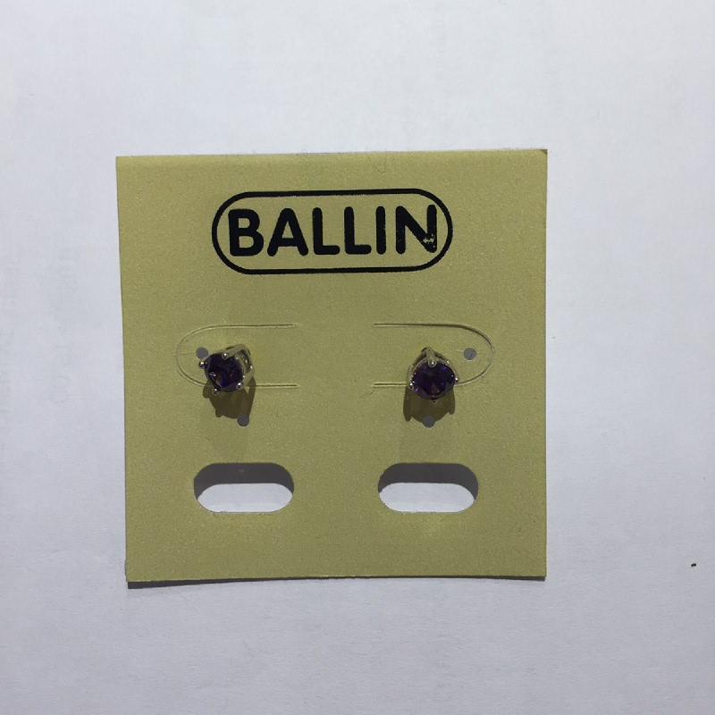 Ballin Women Earing NM-E010092-A2.SU Silver Purple
