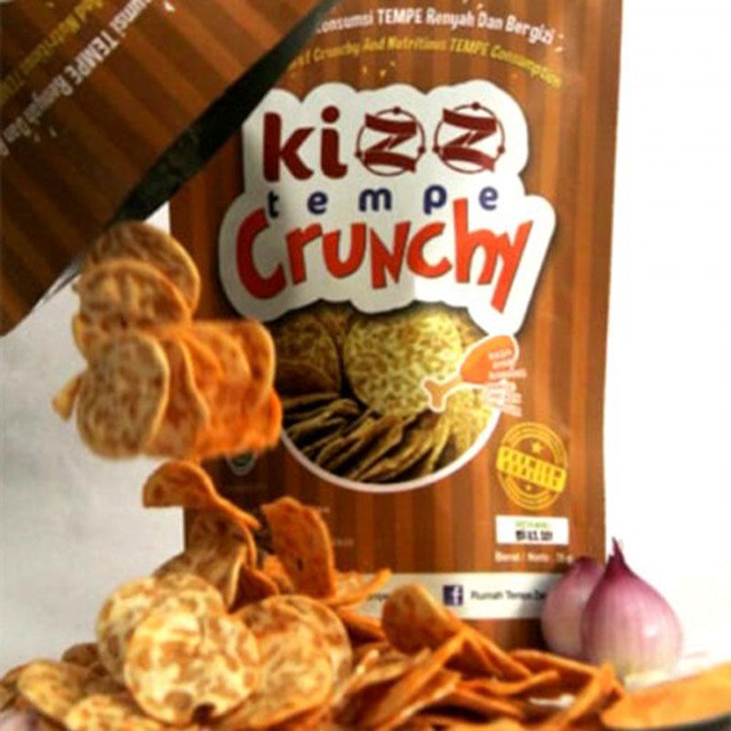 Kizz Tempe Crunchy Spicy 75 gr (isi 2 pack)