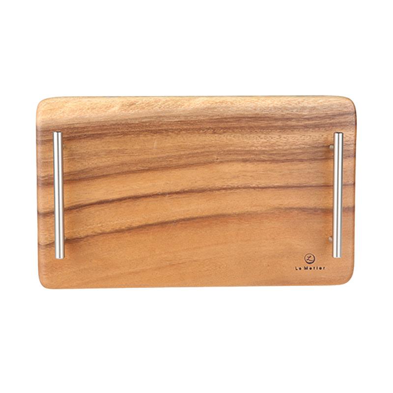 Loka Tray with Steel Handles