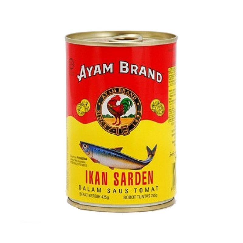Ayam Brand Sardines Bulat 425 Gram
