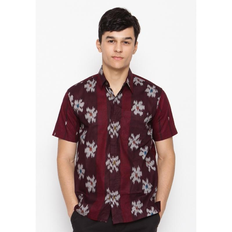 Batik Lengan Pendek HB-LE-51172 Red