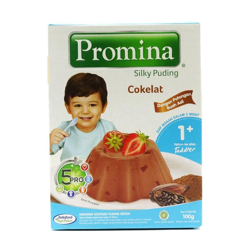 Promina Silky Puding Coklat Box 100 Gr