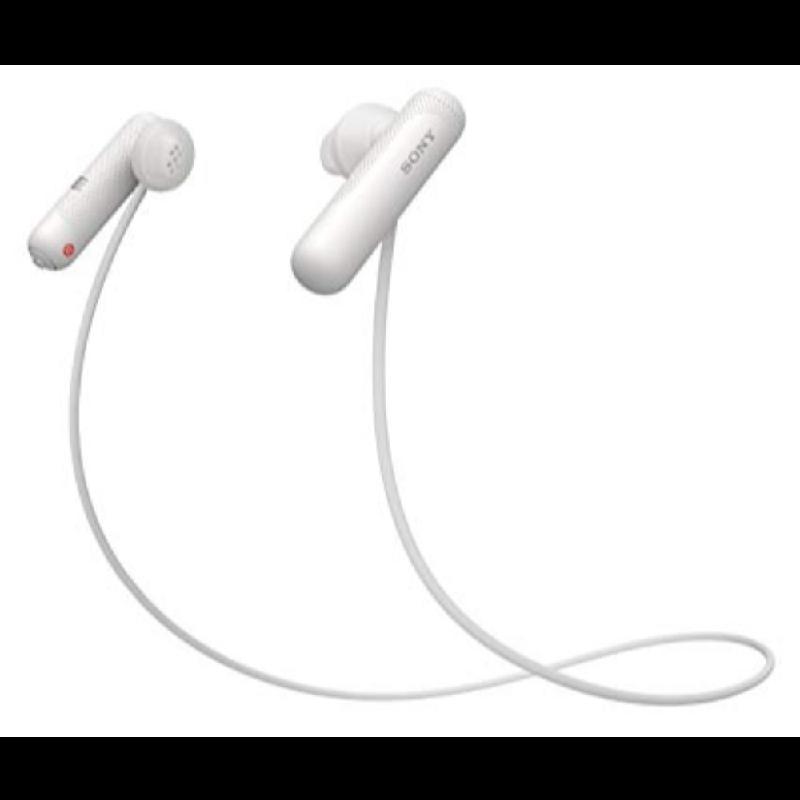 Sony Wireless Earphone WI-SP500 White