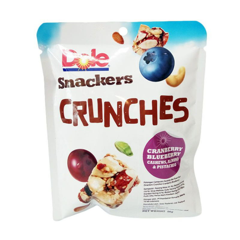Dole Snacker Crunches Cranberry Blueberry