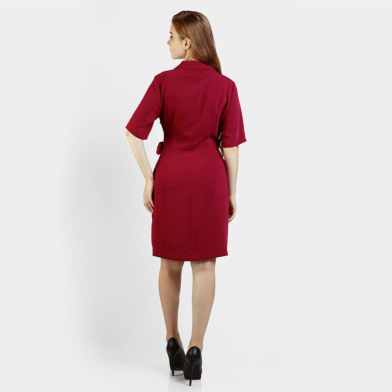 Invio Itzel ID-757 Red Dress