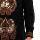 Batik Semar Full Tricot Kol Ctn Vcs Sumping Sumunar Shirt Black