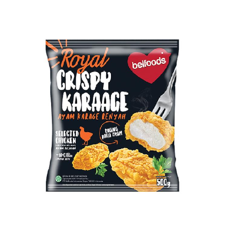 Belfoods Royal Ayam Karaage Renyah  500 gr