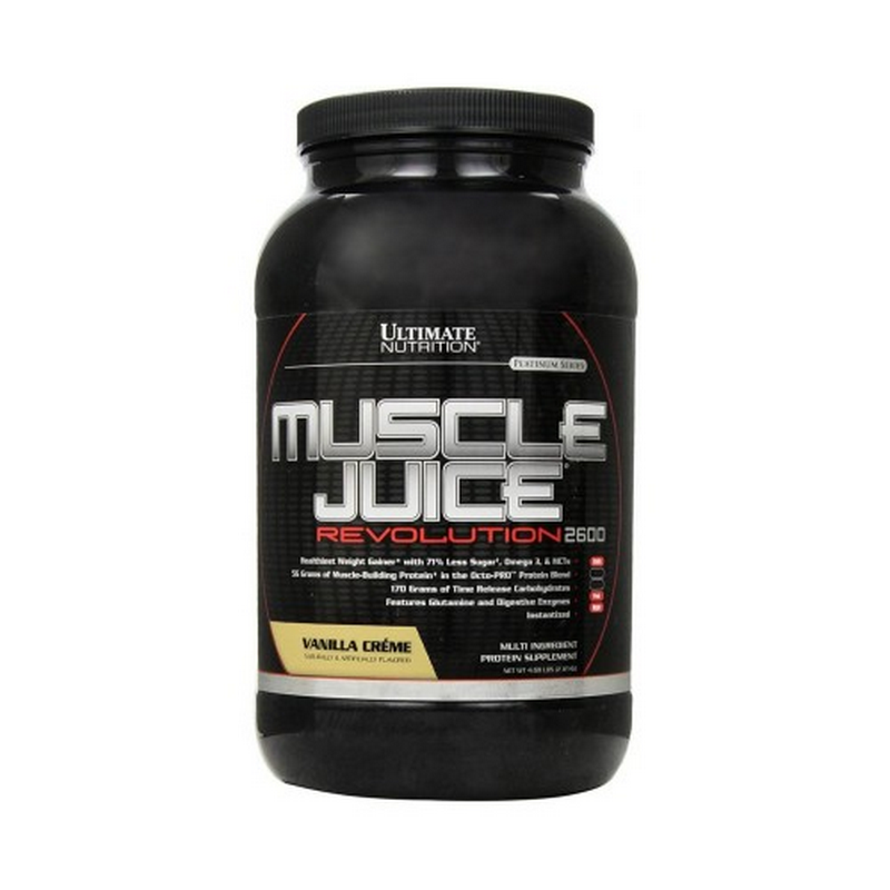 Muscle Juice REVOLUTION 4,69 lbs Vanilla