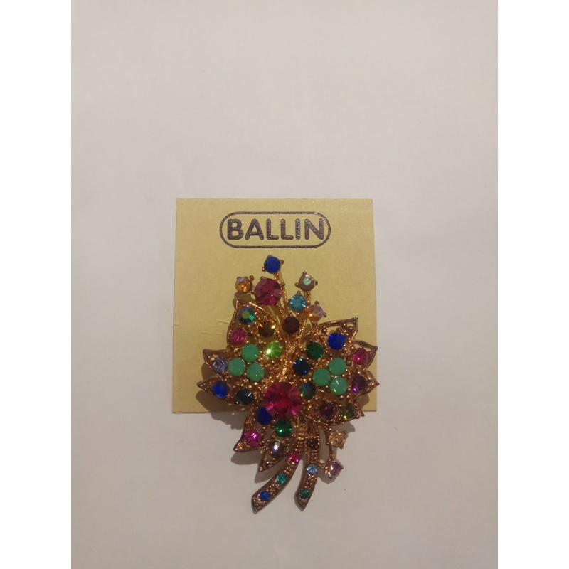 Ballin Women Brooch TM-BR52MULT Gold