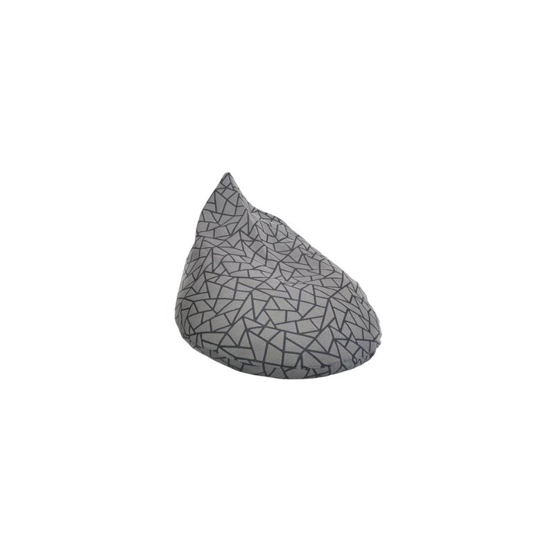 Beam and Co Teardrop Beanbag Stone Iron