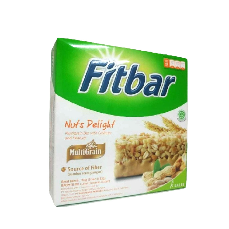 Fitbar Nuts (5 X 24g)