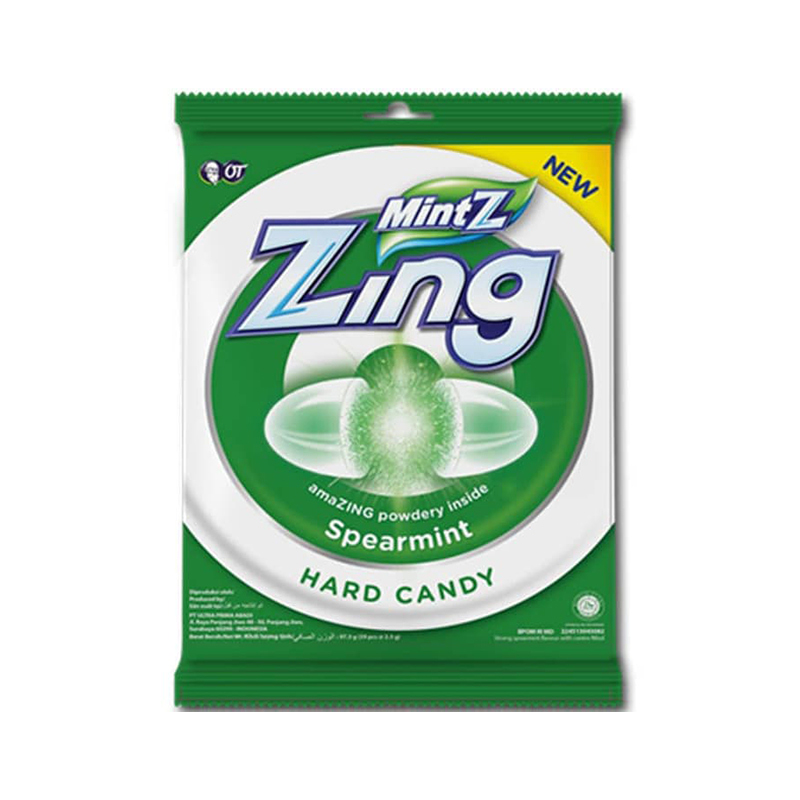 MintZ Zing Spearmint 100g