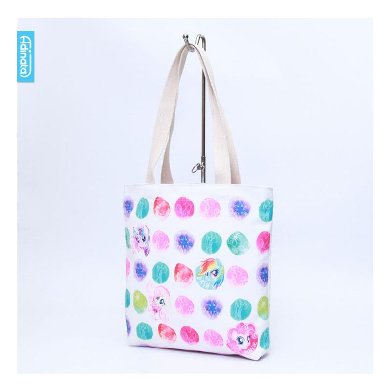 Adinata My Little Pony Rainbow Tote Bag L - Tas Kanvas