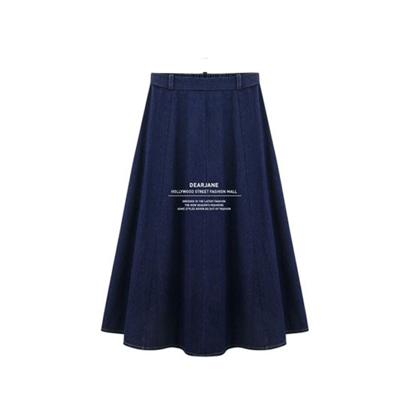 4 season pretty denim skirts three families Blue