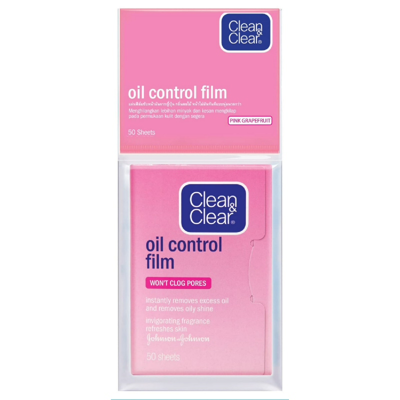 Clean&Clear Oil Control Film Pink 50'S