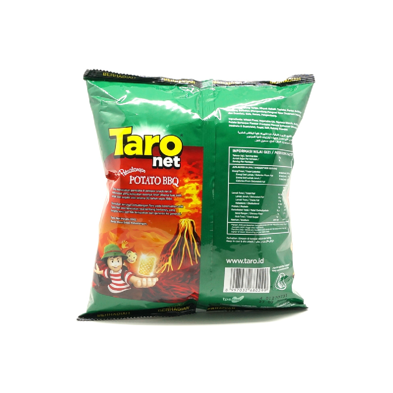 Taro Net Potato Barbeque 70G