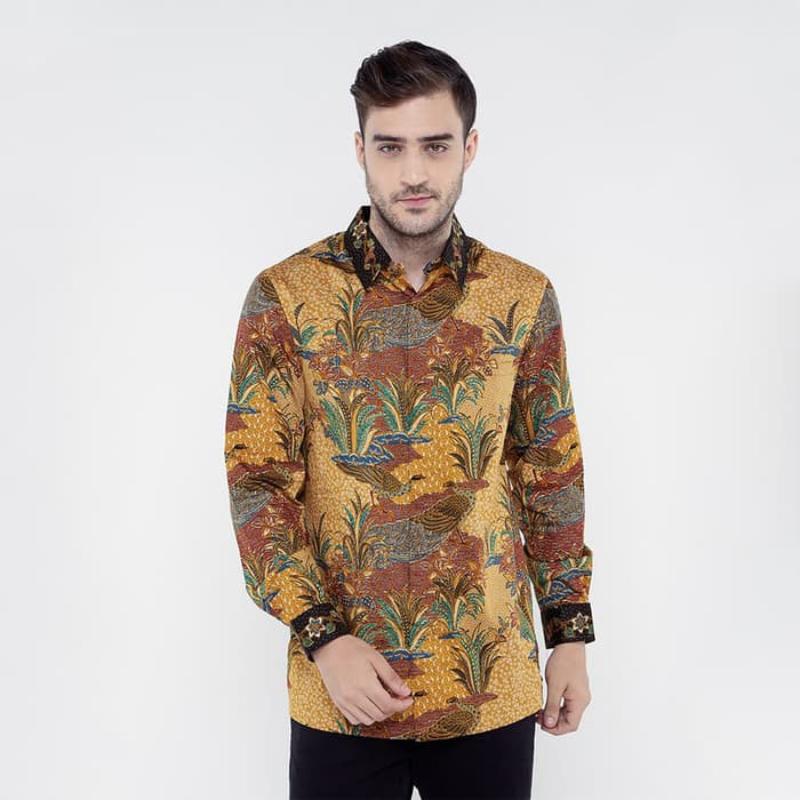 Asana Batik Long Sleeve LS16989GLD