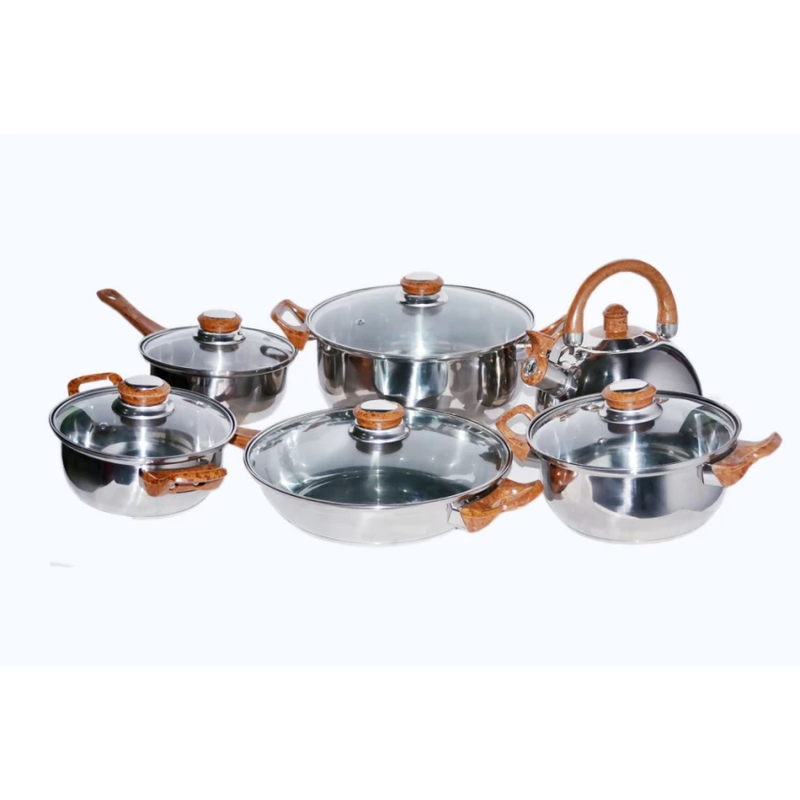 Airlux New Cookware Set of 6 With Jar