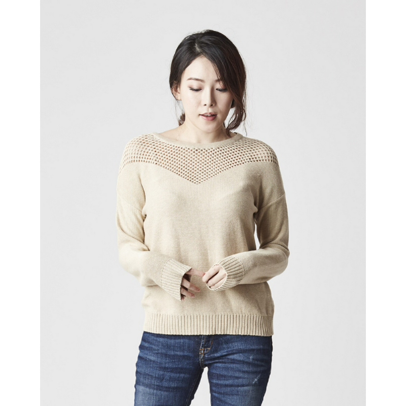 Miyoshi Josei MJ17OW003AFF Sweater Knitwear