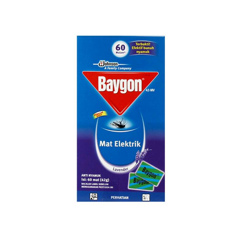 Baygon Mat Lavender 60 S