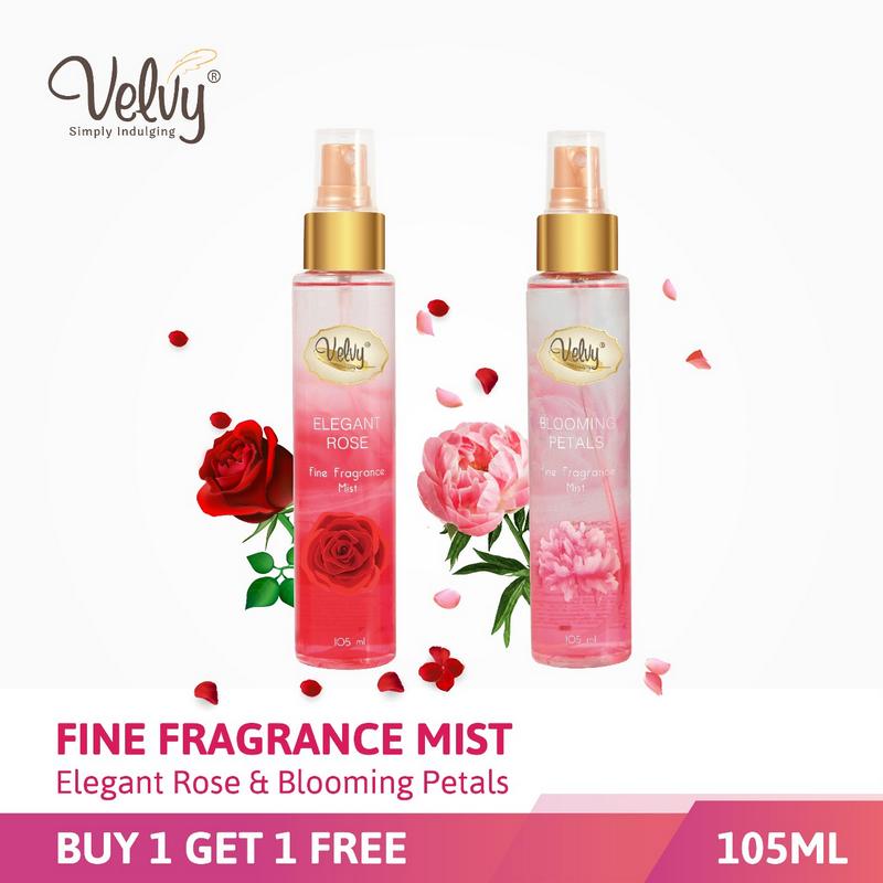 Buy1 Get1 Velvy Fragrance Mist 105Ml