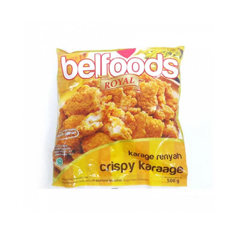 Belfoods Royal Ayam Karaage Renyah 500 Gr (Buy 1 Get 1)