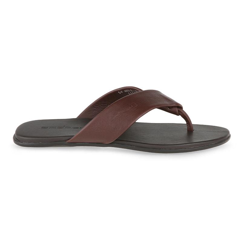 Andrew Feroz Sandals Pria Coklat