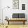 Livien Furniture Kursi Bangku Kayu Panjang Unik Mid Century Sofa Coklat