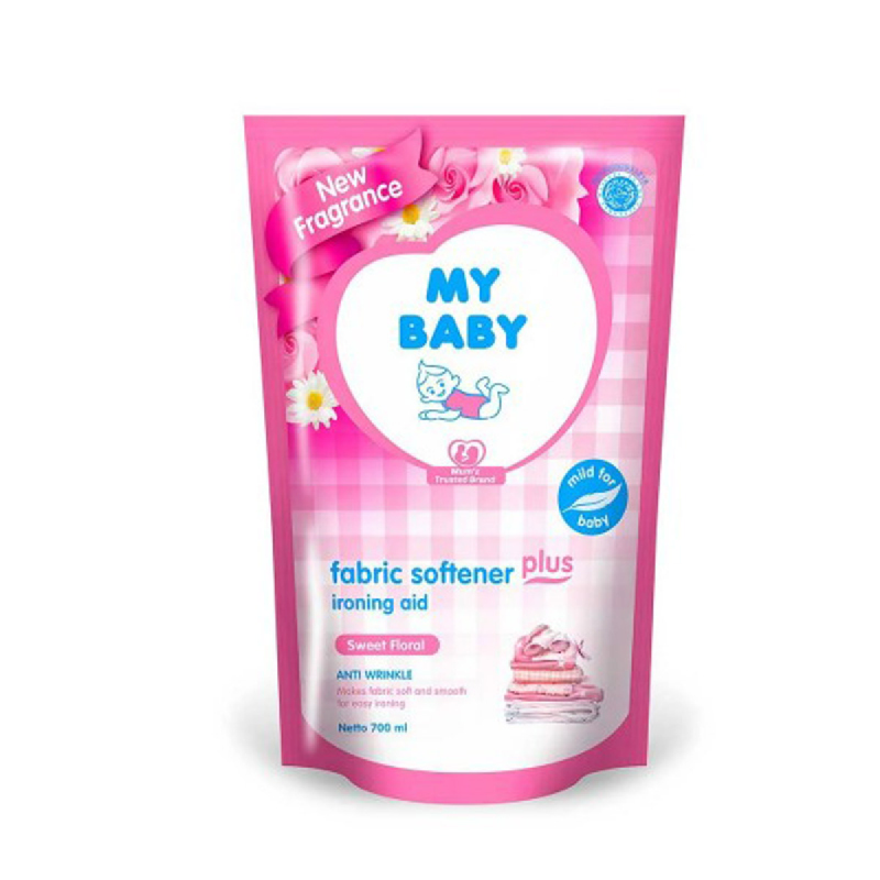 My Baby Softener Sweet Floral 700 Ml