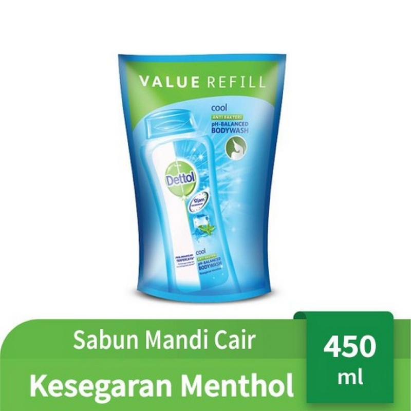 Dettol Bodywash Cool Pouch 450 ml