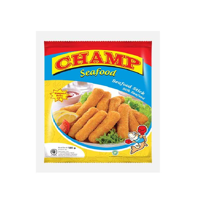 Champ Seafood Fish Drum Stick 180 Gr
